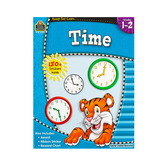 Ready-Set-Learn Activity Book: Time, 64 Pages, Grades 1-2