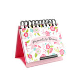 DaySpring, Moments for Moms Perpetual Calendar, 5-1/2 x 5-1/4 x 1-1/4 inches