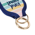 Mary Square, Kind Heart Bottle Pocket Keyring, Neoprene, Multi-Colored, 4 1/4 x 2 1/2 inches