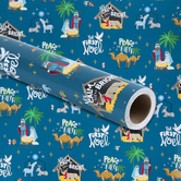 Renewing Faith, Youth Nativity Gift Wrap Roll, Multi-Colored, 100 Feet, 30 x 480 Inches
