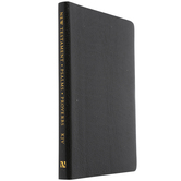KJV New Testament with Psalms and Proverbs, Imitation Leather, Black