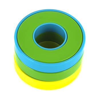 The Pencil Grip, Swingos Fidget Spinner, Green and Blue, 5 x 2 Inches