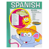 Twin Sisters, Spanish Workbook and Music Download, 48 Pages, Grades PK-6