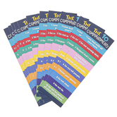 Salt & Light, Ten Commandments Bookmarks, 2 x 6 inches, 25 Bookmarks