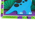 Melissa & Doug, Dinosaurs Chunky Puzzle, 7 Pieces, 12 x 11 inches, Ages 2 to 4 Years Old