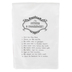 Southern Sisters, The Southern 10 Commandments Tea Towel, Cotton, 30 x 30 inches