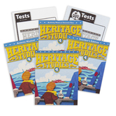 BJU Press, Heritage Studies 4 Complete Subject Kit, 3rd Edition, Grade 4