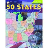 Carson Dellosa, 50 States, Grades 3-5, Paperback, 176 Pages
