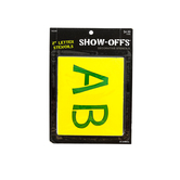 Show-Offs, Upper Case Student Alphabet Stencils, 2 inch characters