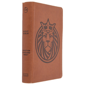 CSB Kids Bible, Imitation Leather, Brown, Lion Design