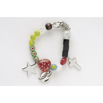 Roman, Inc, Christ's Story, Stretch Charm Bracelet, Large