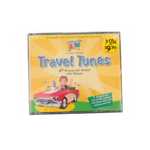 Travel Tunes, by Cedarmont Kids, 3 CD Set