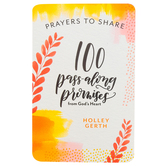DaySpring, Prayers to Share Bible Promises from God's Heart Pass-Along Notes, Paper, 4 3/8 x 6 3/4 inches