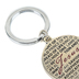 Dicksons, Names of Jesus Key Ring, Metal, Silver, 1 1/4 Inches