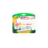 Crayola, Washable Dry Erase Markers, Fine Line, Assorted,  6 Count
