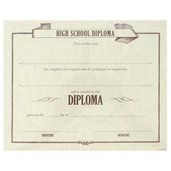 A Simple Plan, Homeschool Diploma