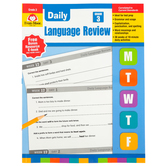 Evan-Moor, Daily Language Review, Grade 3, Teacher's Edition, Paperback, 136 Pages