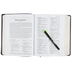 RVR 1960 The Hebrew-Greek Key Word Study Bible Spanish Edition, Bonded Leather, Burgundy