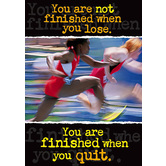 You Are Not Finished - ARGUS® Poster