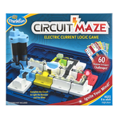 ThinkFun, Circuit Maze: Electric Current Logic Game, Ages 8 and Older, Single Player