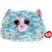 Ty, Whimsy the Cat Sequin Accessory Bag, 8 inches