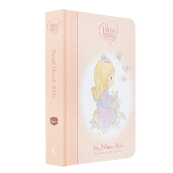 NKJV Precious Moments Holy Bible, Hardcover, Pink