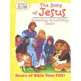 Concordia Publishing, The Story of Jesus Coloring and Activity Book, by Wonder Kids, Paperback