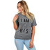 NOTW, I Am His, Women's Short Sleeve T-Shirt, Grey Heather, Small
