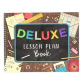 Renewing Minds, School Fun Lesson Plan Book, Multi-Colored, Spiral, 1 Each