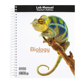 BJU Press, Biology Lab Manual Teacher's Edition, 5th Edition, Grade 10