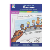 Carson-Dellosa, Social Skills Manners, Special Needs, Reproducible, 64 Pages, Grades PreK-2