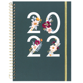 DaySpring, Studio 71 Floral Weekly & Monthly 2022 Planner, 6 3/4 x 8 1/2 inches