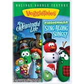 VeggieTales, It's A Meaningful Life & Christmas Sing-Along Double Feature, DVD