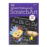 Retail Centric Marketing, Step Up Kids Alphabet Workbook with Scratch Art, Paperback, 28 Pages, Grades Pre K-1
