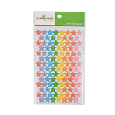 Renewing Minds, Smiley Stars Mini Incentive Stickers, Assorted-Colors, Pack of 1050