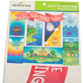 Renewing Minds, Days of Creation Mini Bulletin Board Set, 8 Pieces