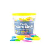 Learning Resources, Brights! Pattern Blocks, 250 Pieces