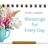 DaySpring, Blessings for Every Day Perpetual Calendar for Women, Paper, 5-1/2 x 5-1/4 x 1-1/4 inches