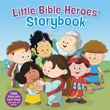 Little Bible Heroes Storybook, by Victoria Kovacs, Hardcover