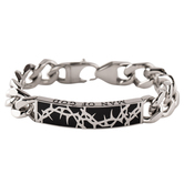 Spirit & Truth, Crown Of Thorns Collection, Man of God, Men's Cable Bracelet