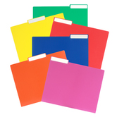 Primary Color File Folders