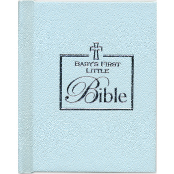 Brownlow Gifts, Baby's First Little Bible/Blue