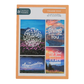 ThreeRoses, Mountain View Thank You Cards, 12 count