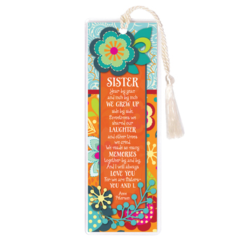 Sister/Year By Year Tassel Bookmark