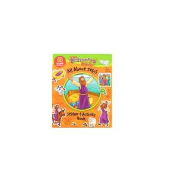 The Beginner's Bible All About Jesus Sticker and Activity Book, by Kelly Pulley