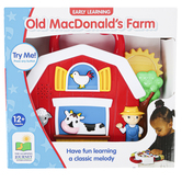 The Learning Journey, Early Learning Old MacDonalds Farm, 9 x 7 1/2 inches, Ages 12 Months & Older