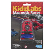 Toysmith, 4M KidzLabs Magnetic Racer, 2 Pieces, Ages 5 Years and Older