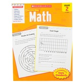 Scholastic, Success With Math Activity Book, 64-Pages, Paperback, Grade 2