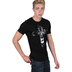 NOTW, Lion Cross, Men's Short Sleeve T-Shirt, Black