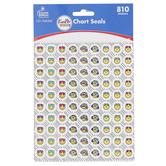 Carson-Dellosa, Kind Vibes Chart Stickers, 810 Seals